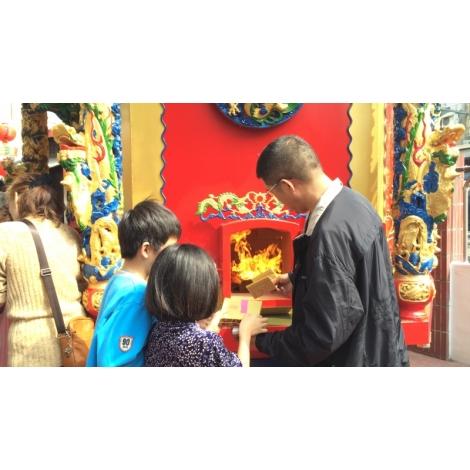 環保金爐-八角亭福德廟